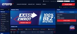 Zakłady Sportowe Etoto - Widok