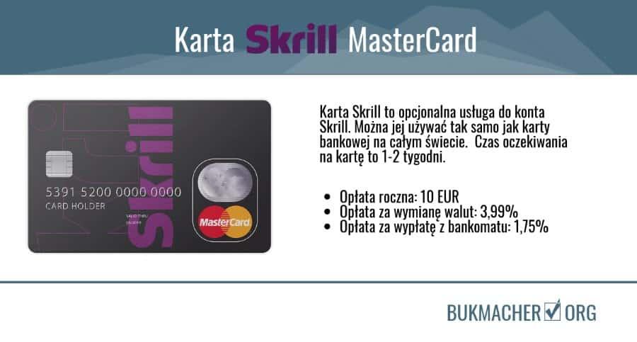 Karta skrill mastercard - opłaty czas oczekiwania